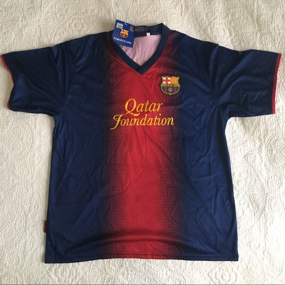 100% authentic 81ef4 34455 Official FC Barcelona Lionel Messi Jersey L NWT